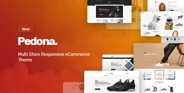 Pedona - 多配色Opencart电商主题 - 仿牌运动鞋简洁急速模板