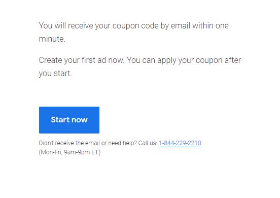 Google关键词广告免费获得350美金账单额度 - 白嫖谷歌广告