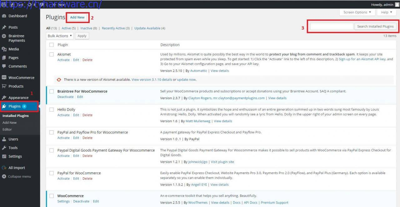 WordPress教程WooCommerce设置PayPal收付款