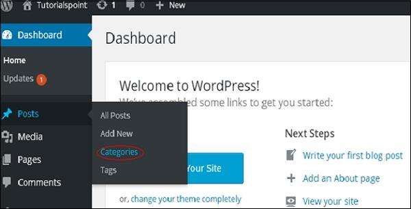 WordPress 删除类别