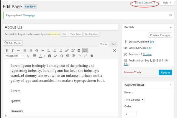WordPress 添加评论