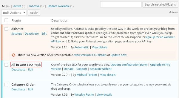 WordPress 安装插件
