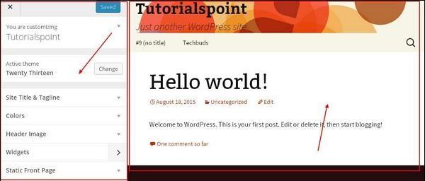 WordPress 自定义主题