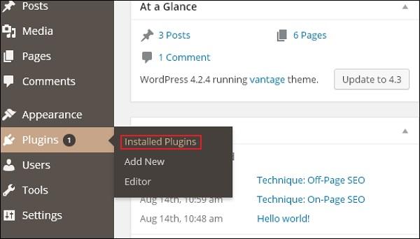 WordPress 垃圾邮件防护