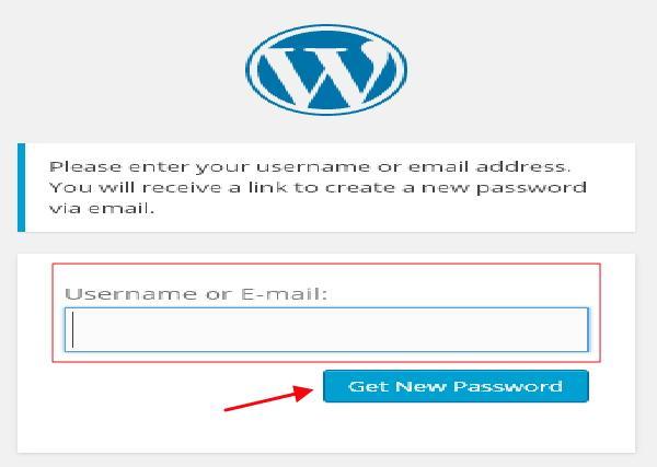 WordPress 重设密码