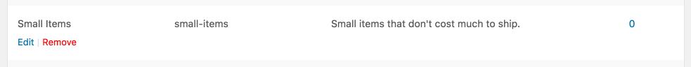 产品配送类型