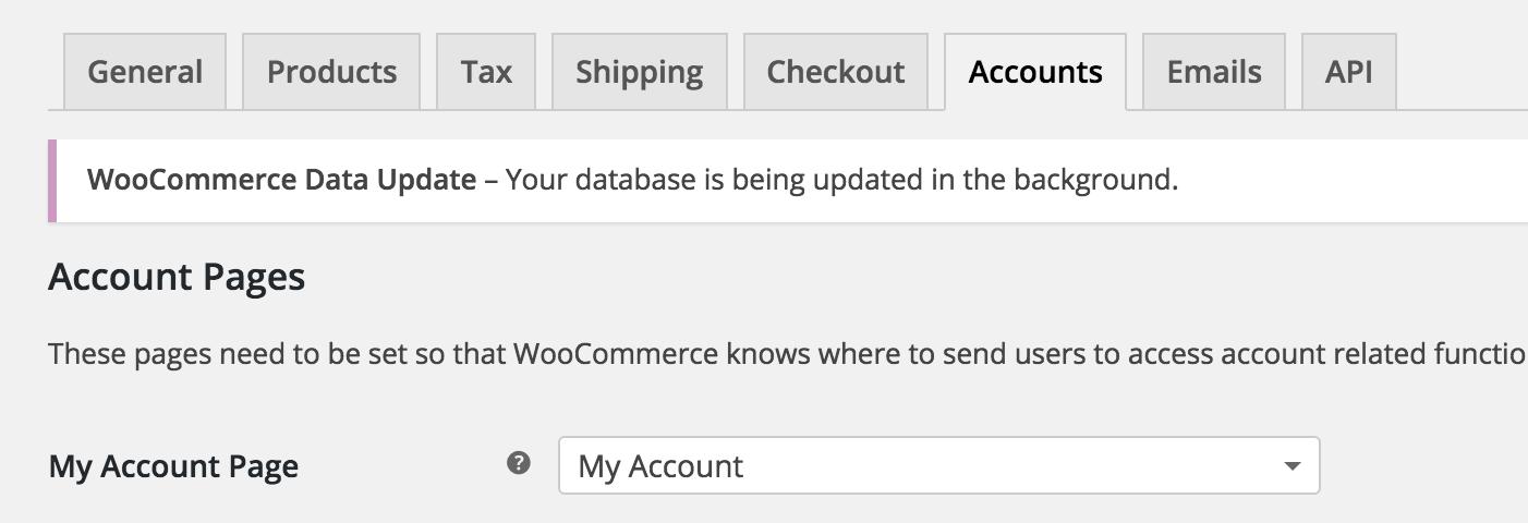 配置WooCommerce设置