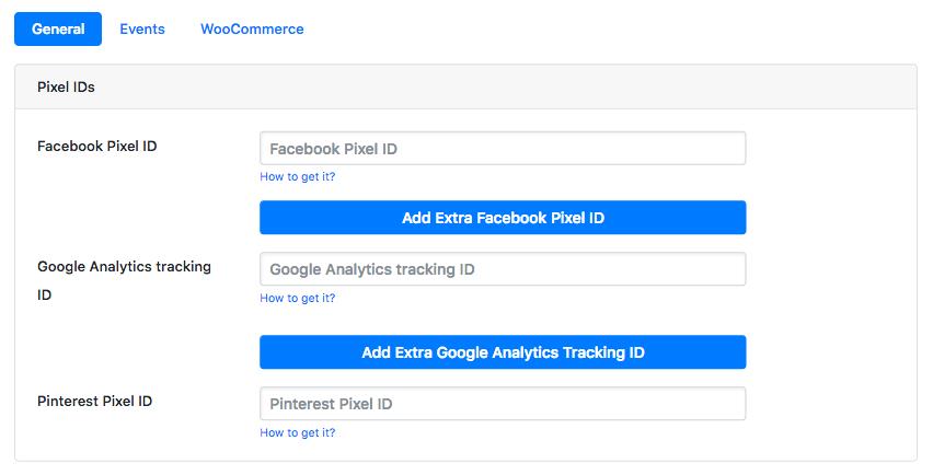 添加您的 Facebook 像素
