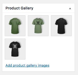 添加产品图片和相册