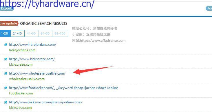外贸仿牌网站推广手法